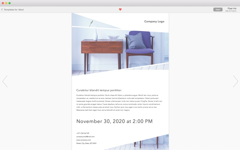 Print Lab for Word - Templates for Mac 3.2.3 激活版 - Word模板合集