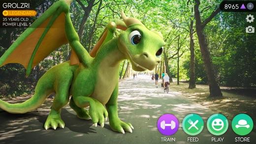 AR Dragon Screenshot