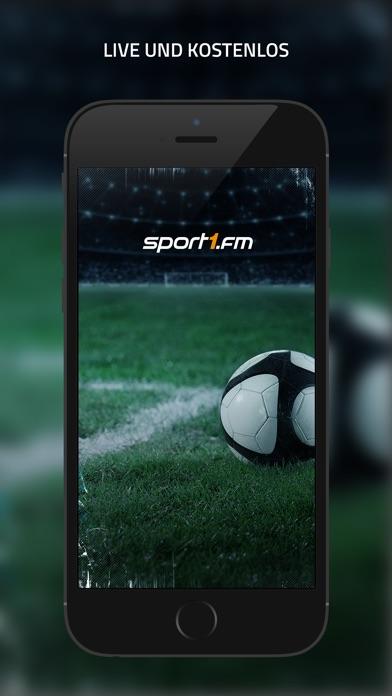SPORT1.fm – Deine Fußballwelt für unterwegs Screenshot