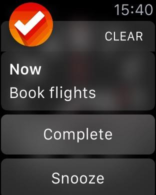 Clear Todos Screenshot