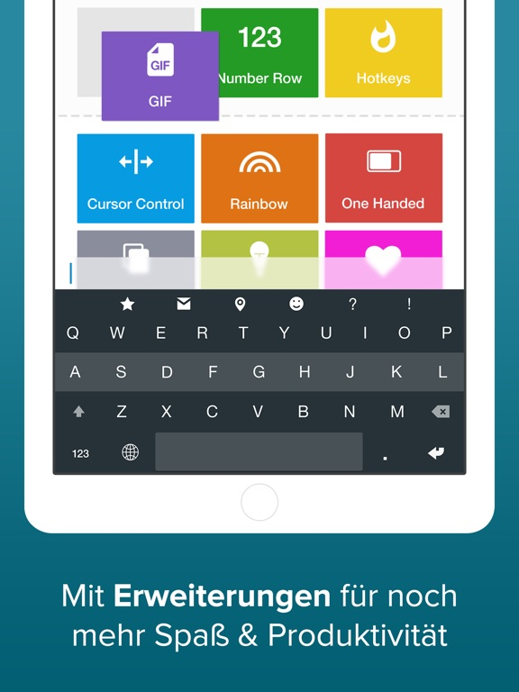Fleksy - GIF Web & Yelp Search Screenshot
