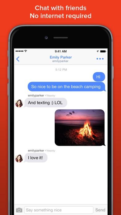 FireChat Screenshot