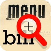 Magnifying reader for restaurant bill and menu (30x zoom)