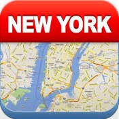New York Offline Map - City Metro Airport with Travel Trip Planner