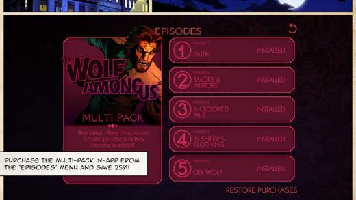 The Wolf Among Us Screenshot
