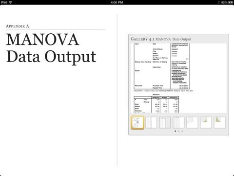 MANOVA by Rusty Waller, PhD & Rick Lumadue, PhD on iBooks