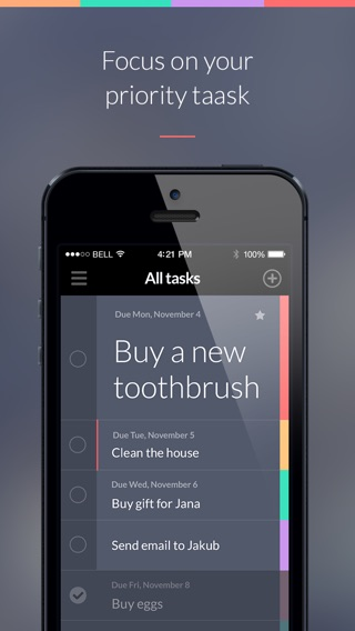 Taasky - Beautiful Task & To-Do List Screenshot