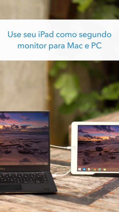 Screenshot do app Duet Display