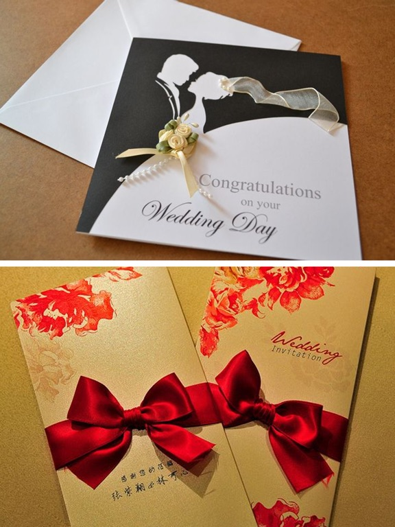 5 Fabulous Red Wedding Invitation Card 4