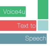 Voice4u Text-To-Speech (TTS)
