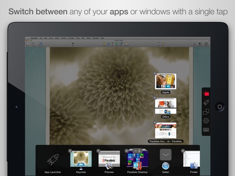 Parallels Access Screenshot