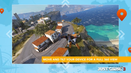 Just Cause 3: WingSuit Experience Screenshot