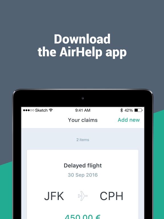 AirHelp Screenshot