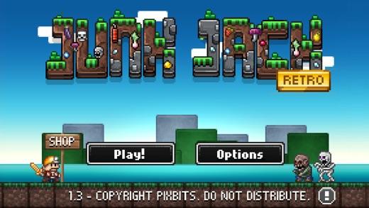 Junk Jack Retro Screenshot