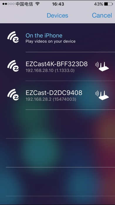 EZCast Screenshot