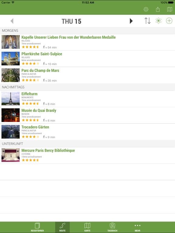 mTrip Reiseführer (Offline Karten und Routen) Screenshot