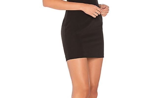 Majorelle X Revolve Hollows Dress In Black Revolve