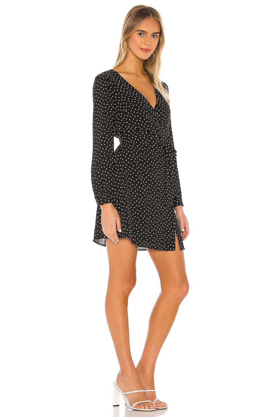 Vintage Scatter Dot Dress, view 2, click to view large image.