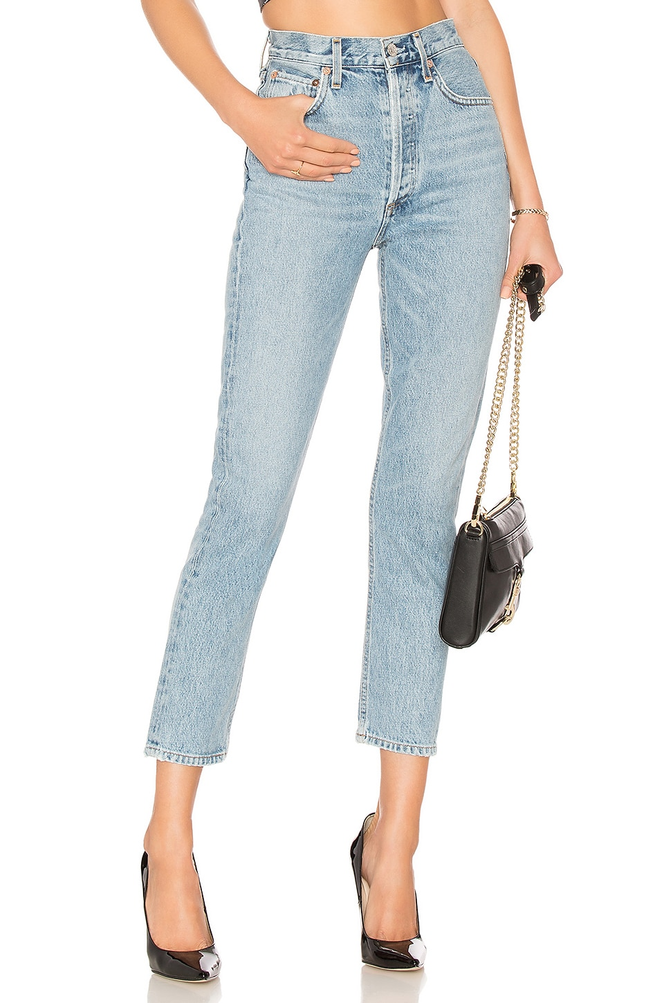 Riley High Rise Straight Crop             AGOLDE                                                                                                       CA$ 267.30 8