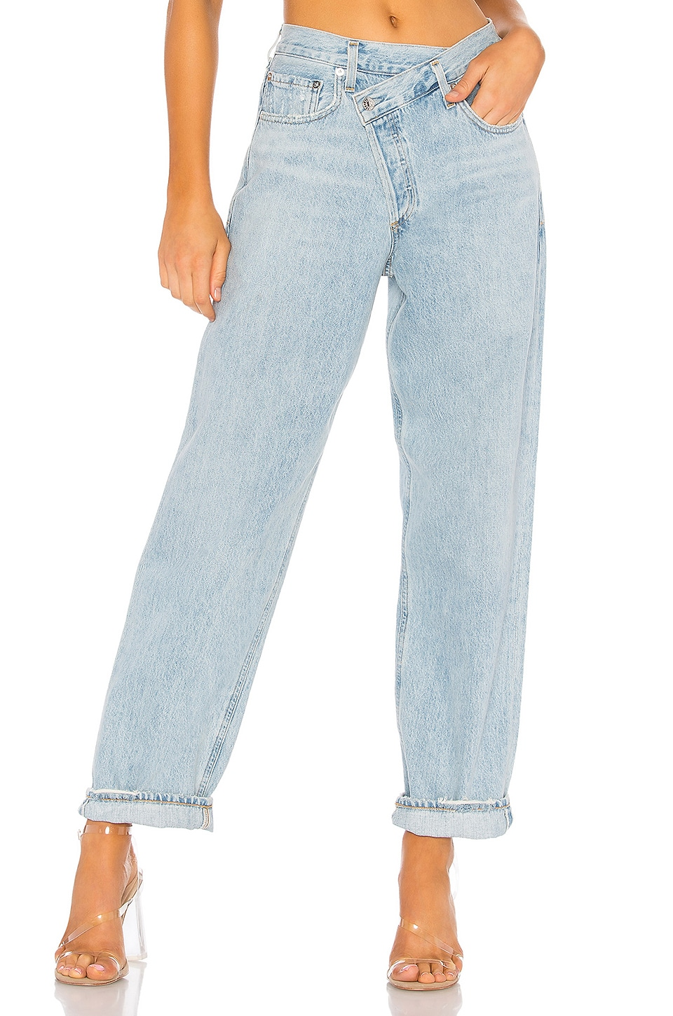 Criss Cross Upsized Jean                     AGOLDE 10