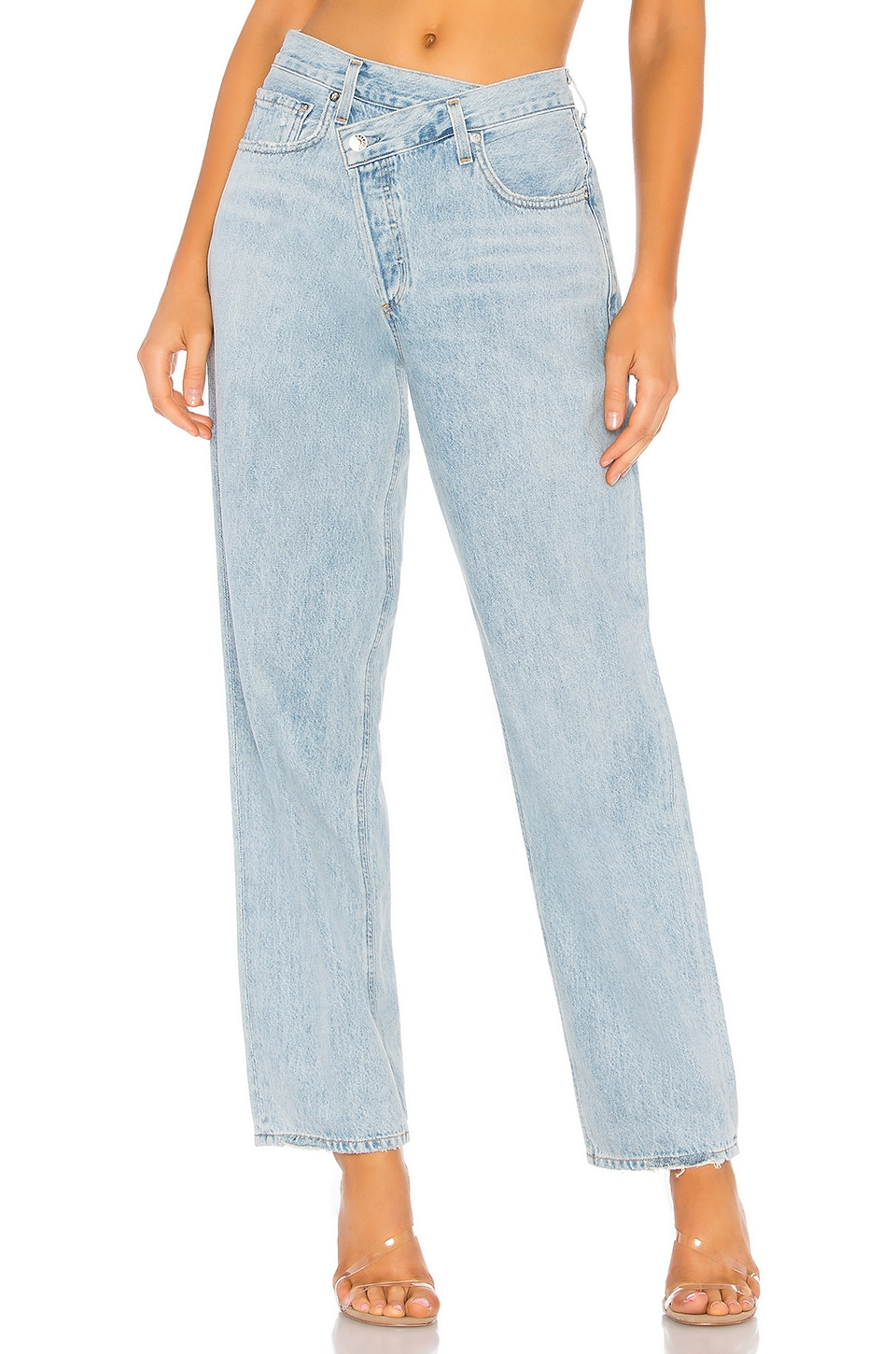 Criss Cross Upsized Jean, view 2, click to view large image.
