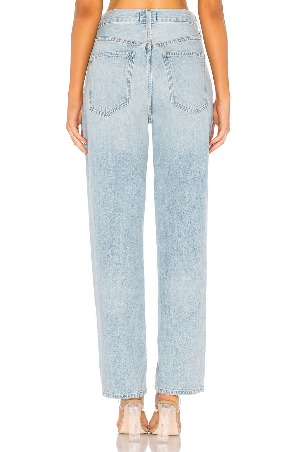 Criss Cross Upsized Jean, view 4, click to view large image.