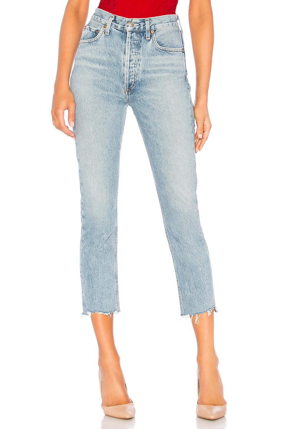 Riley High Rise Straight Crop             AGOLDE                                                                                                       CA$ 263.27 11