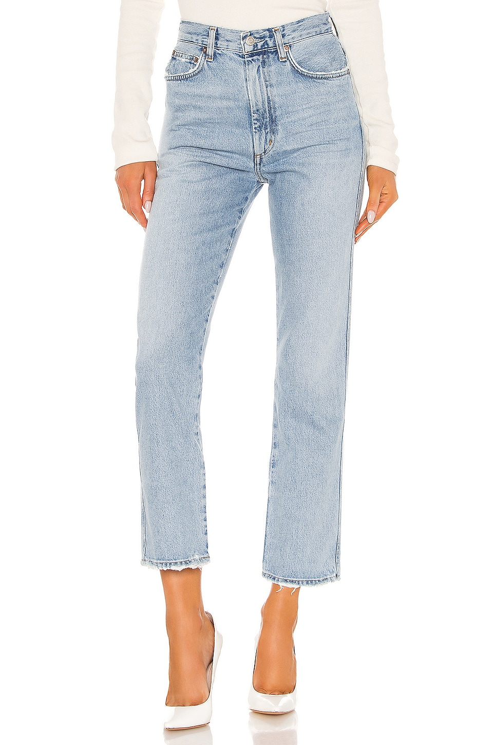 Pinch Waist High Rise Kick             AGOLDE                                                                                                       CA$ 236.68 7
