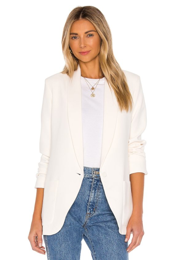 Shawl Collar Blazer             Amanda Uprichard                                                                                                       CA$ 375.36 1