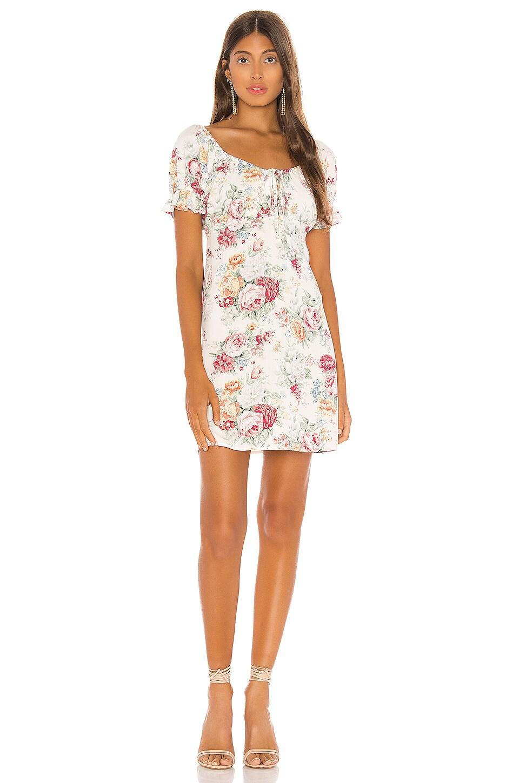 Reverie June Mini Dress             AUGUSTE                                                                                                                                         Sale price:                                                                       CA$ 41.23                                                                                                  Previous price:                                                                       CA$ 206.16 8