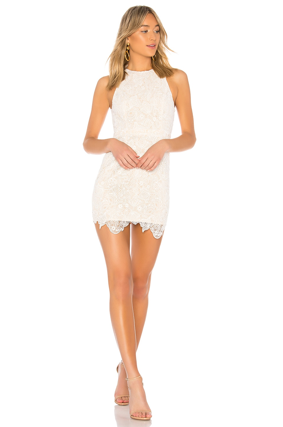 Patty High Neck Crochet Dress             superdown                                                                                                       CA$ 110.90 31