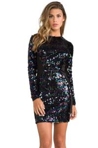 Black Sparkly Dress With Sleeves   www.imgkid.com - The ...