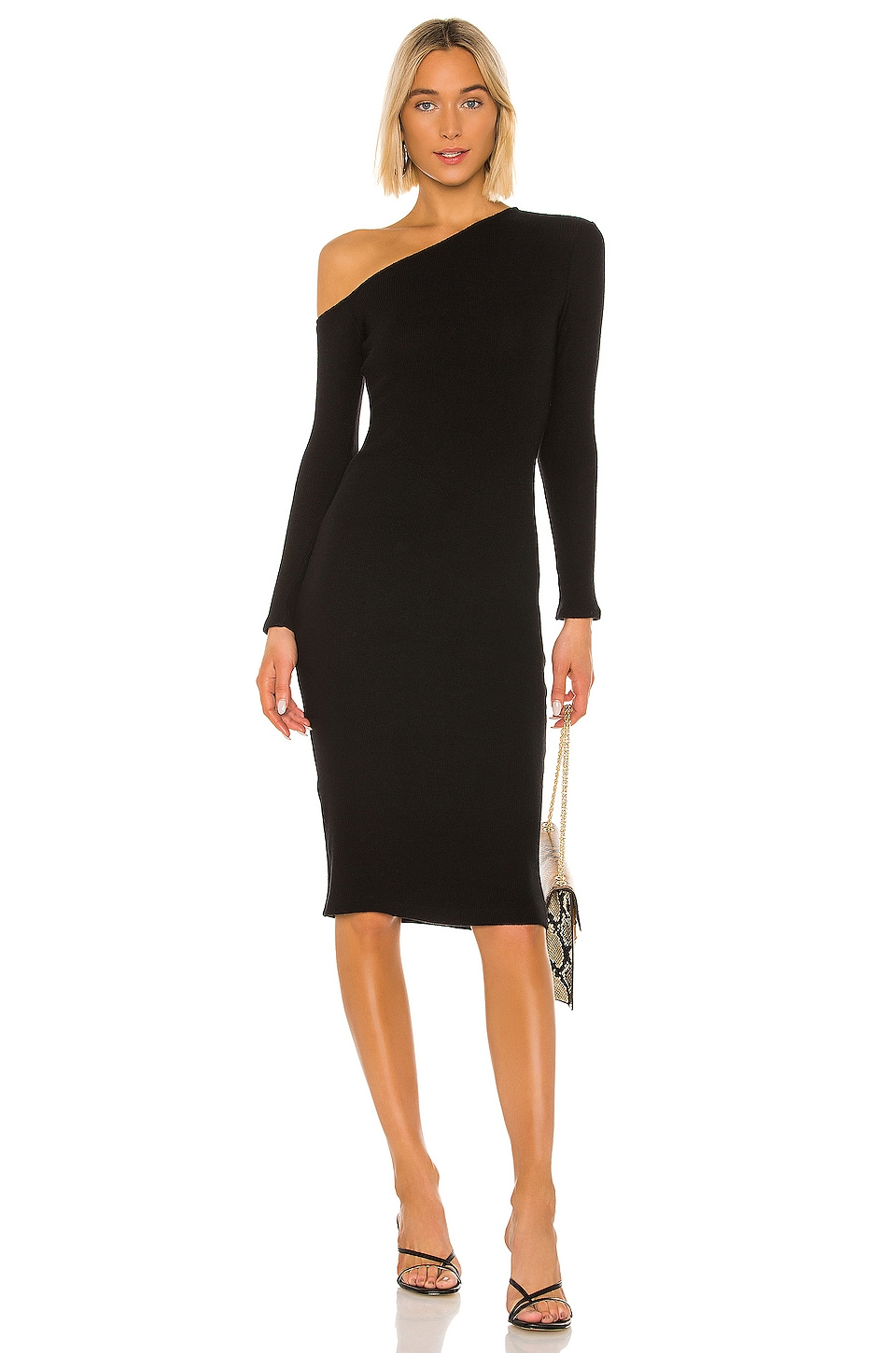 Sweater Knit Angled Midi Dress             Enza Costa                                                                                                       CA$ 297.84 6