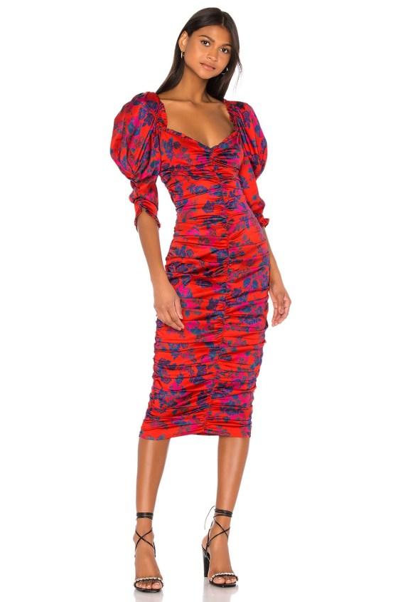 Monet Midi Dress                   For Love & Lemons                                                                                                                             CA$ 340.01 8