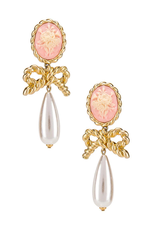 Love Of Lemons Jewelry : lemons, jewelry, Lemons, Cameo, Pearl, Earrings, Vintage, REVOLVE