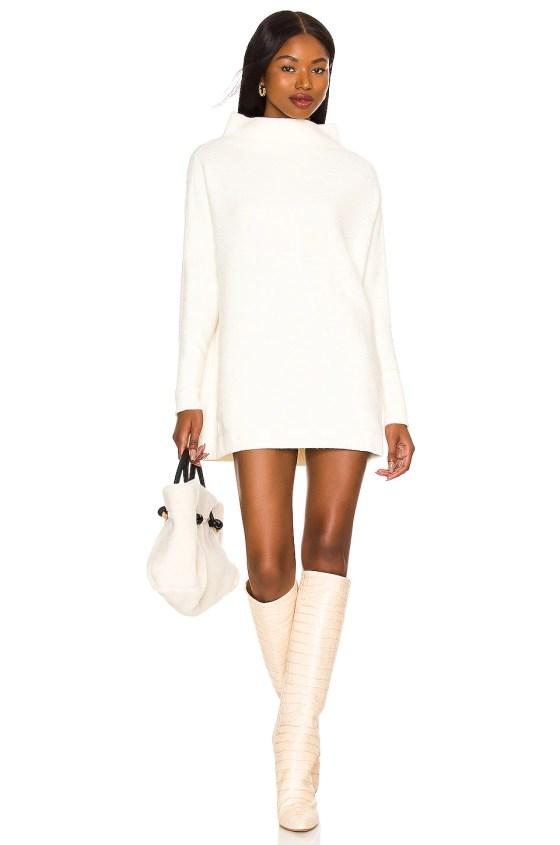Ottoman Slouchy Tunic Sweater Dress             Free People                                                                                                       CA$ 210.43 1