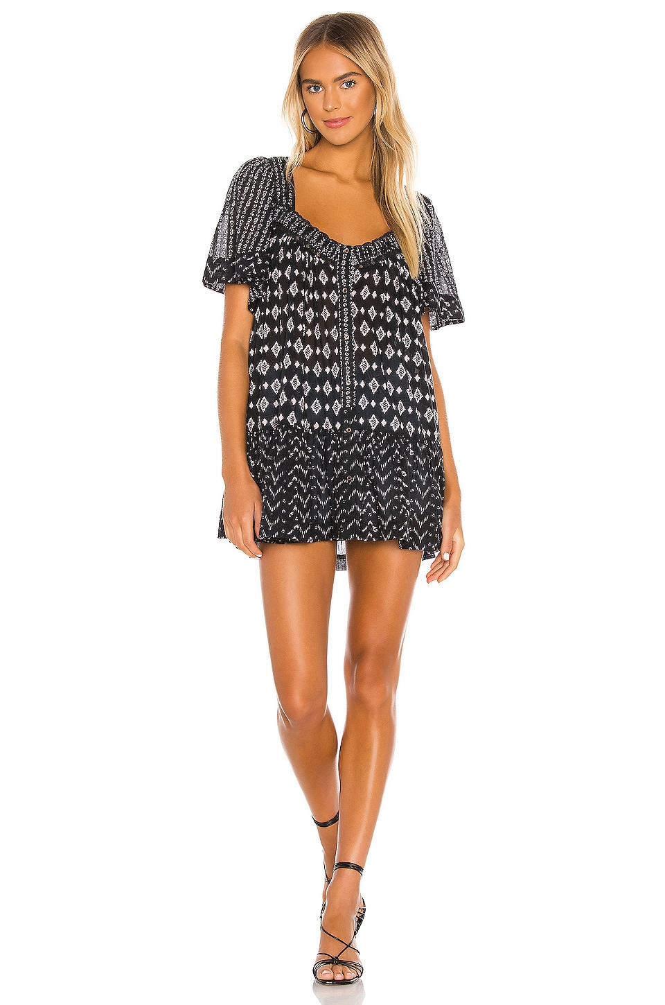 Hearts Desire Printed Mini Dress             Free People                                                                                                       CA$ 181.99 3