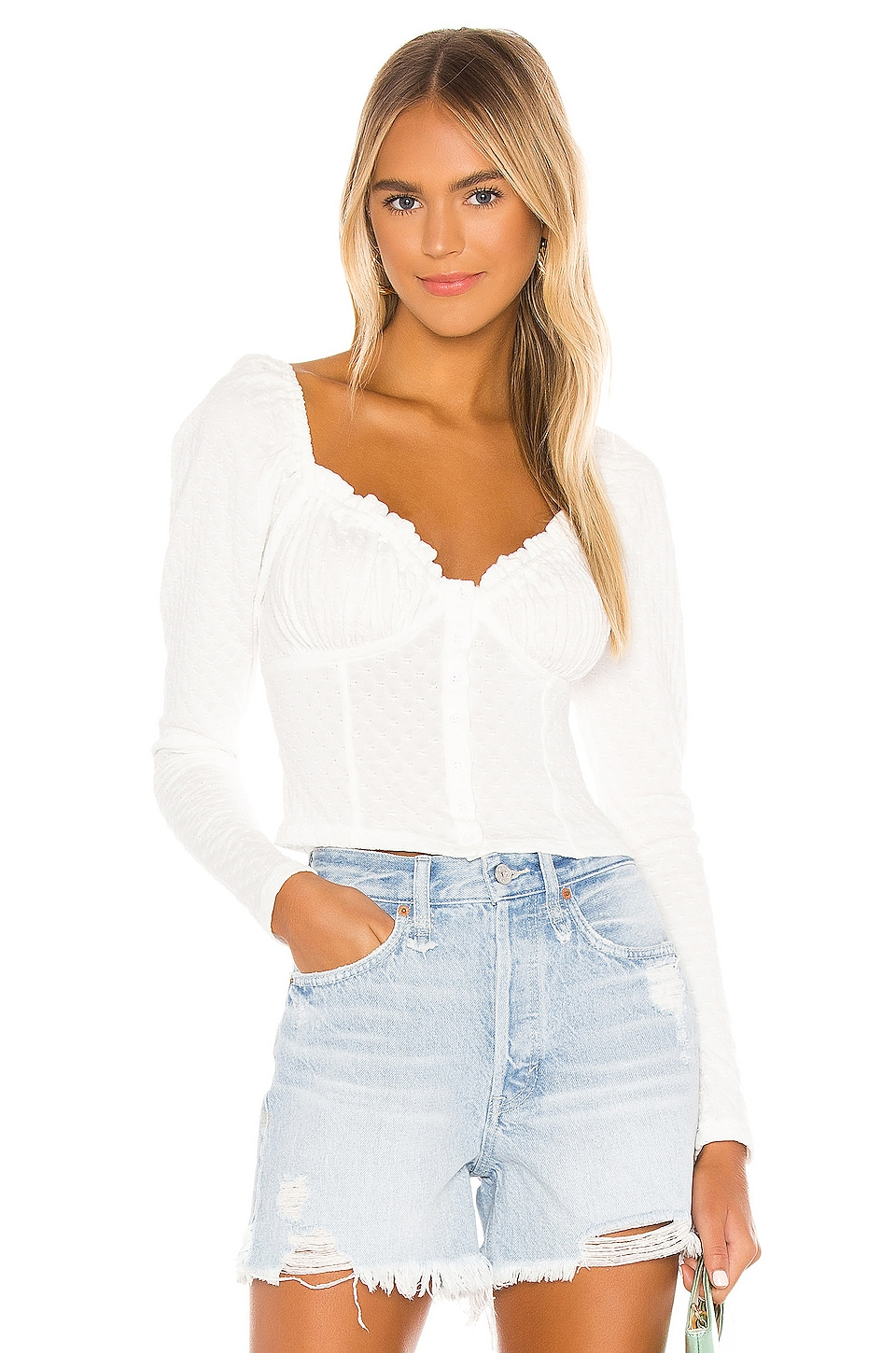 Ladybug Long Sleeve Top             Free People                                                                                                       CA$ 96.68 4