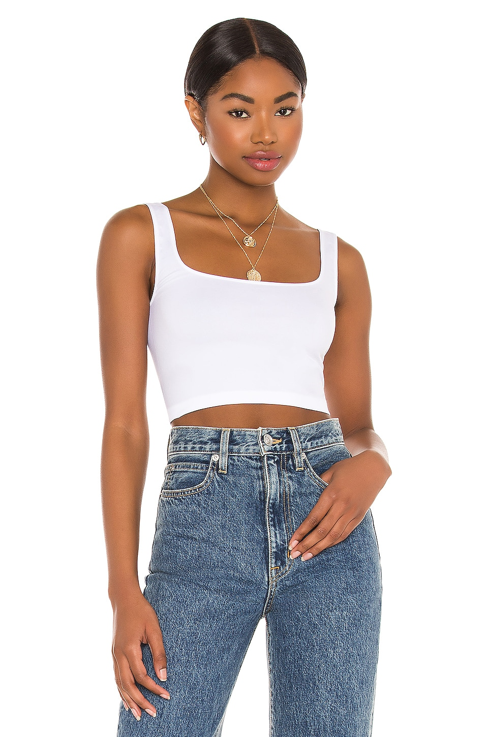 Scoop Neck Crop Top                     Free People 3