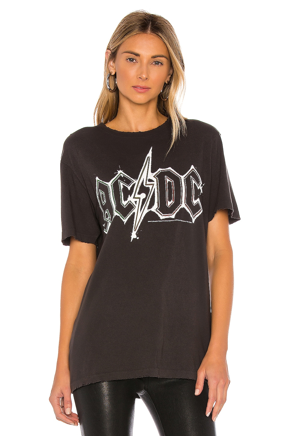 AC/DC Vintage Tee, view 2, click to view large image.