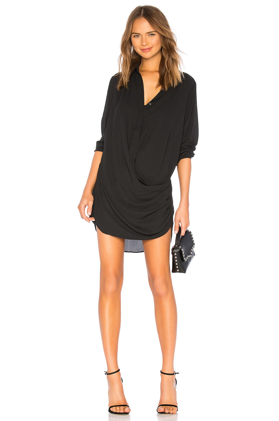 Drape Button Front Mini             krisa                                                                                                       CA$ 287.20 6