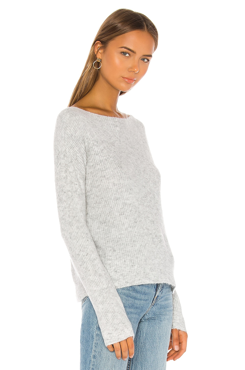Alayah Off Shoulder Sweater, view 3, click to view large image.