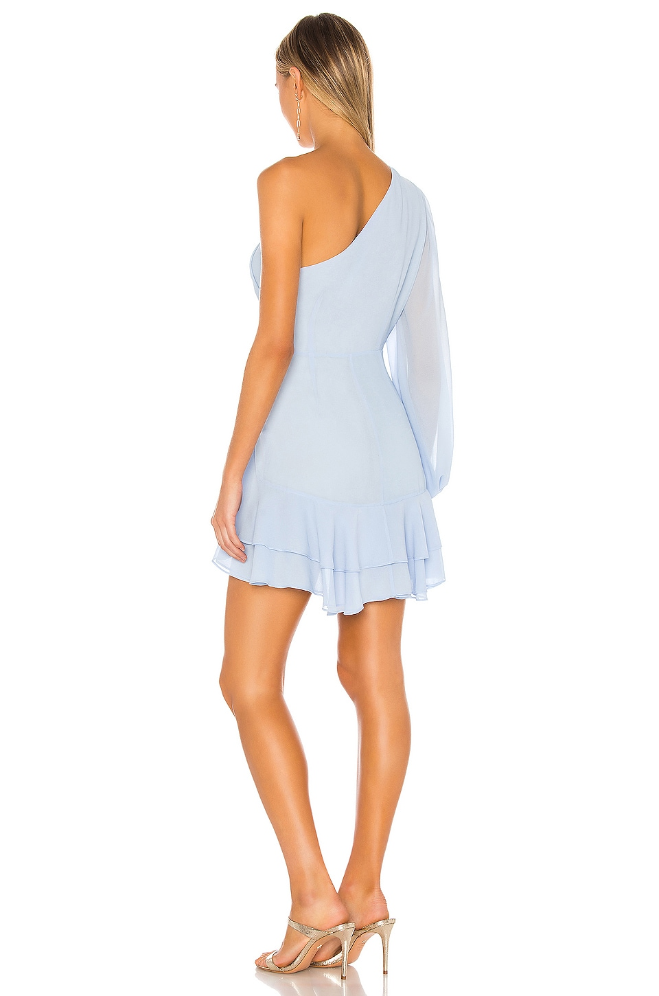 x REVOLVE Sunny Mini Dress, view 4, click to view large image.
