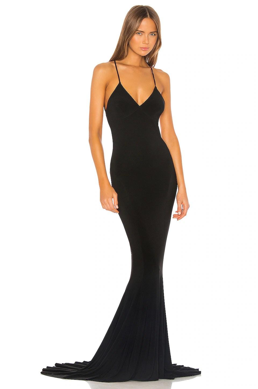 Low Back Slip Mermaid Fishtail Gown                   Norma Kamali                                                                                                                             CA$ 457.71 1