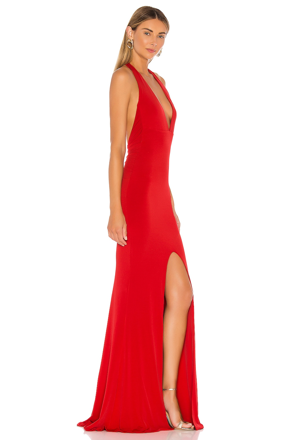 Illegal Halter Gown, view 2, click to view large image.