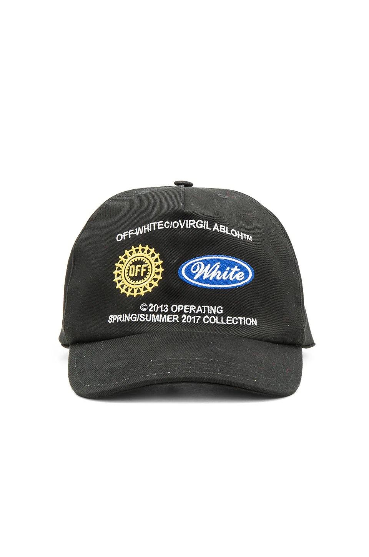 off white work cap