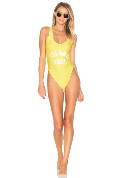 Island Vibes One Piece Swimsuit
