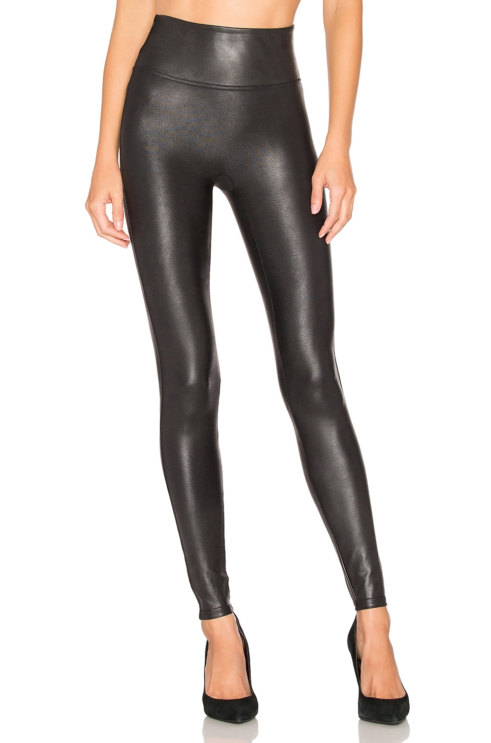 Faux Leather Leggings                     SPANX 3