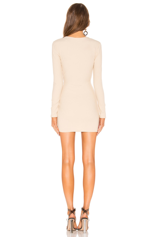 Dana Wrap Mini Dress, view 3, click to view large image.