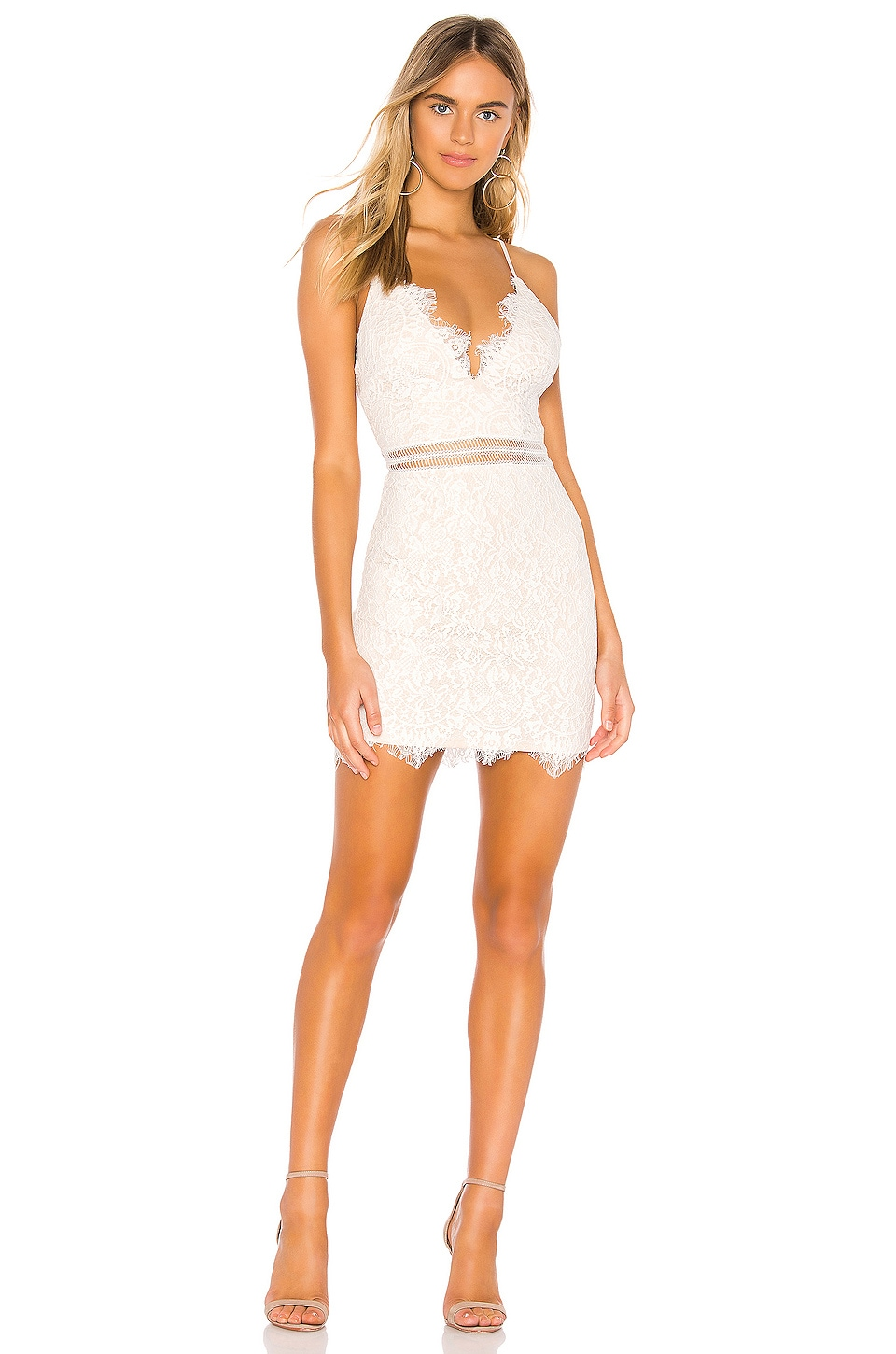 Remi Lace Mini Dress             superdown                                                                                                       CA$ 87.76 9